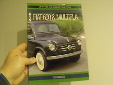 Fiat 600 & Multipla book vintage car microcar