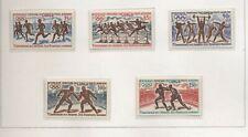 Congo Repubblica 1971 75° giochi olimpici serie cpl nuova integra MNH T845