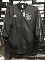 Adidas Mexico Anthem Jacket Black 2019 Size Large   Only