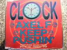 Clock / Axel F – Keep Pushin feat. Mixes from Stu Allan Primax PTP – Maxi CD