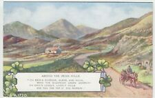Ireland; Among The Irish Hills Verse PPC Durlas Eile 1956, To Barber, Cranleigh