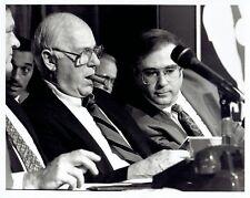 1992 Original Photo Boston Celtics Execs. Red Auerbach & Jan Volk at NBA Draft