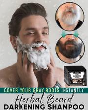 Herbal Beard Darkening Shampoo