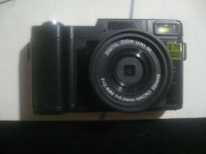 New! CMOS Digital Camera W/Zoom 4X-OV8810-Black W/accessories