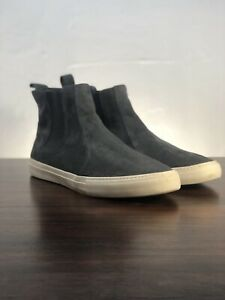 Banana Republic Tully Suede Chelsea Sneaker Grey Men's Size 12