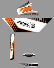 SODI STYLE ROTAX RADIATOR STICKER KIT - KARTING