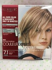 L'Oreal Couleur Experte Express Hair Color 7.1 Dark Ash Blonde Vanilla Icing NEW