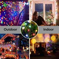 22m 200LED Catena di Luci Solare Esterno Illuminazione Natale Festa Giardino