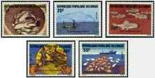 Timbres Poissons Congo 738/42 ** lot 17971
