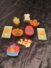 Lot Of Shape Rubber Eraser Colorful , Holiday,