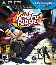 Kung Fu Rider - Office Chair Action Arcade Chinese Mob Detective PS3 Move NEW