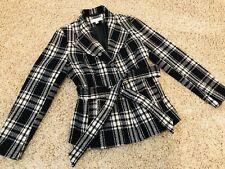 New York & Company - Women's Black & White, Wool Blazer/Jacket, Size M