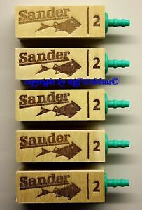 Sander Lindenholzausströmer Größe 2 Ausströmer  5er Packung  2,16€/St.