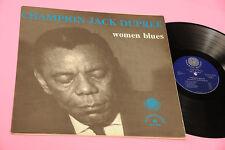 CHAMPION JACK DUPREE LP WOMEN BLUES ORIG LAMINATED MULTIGATEFOLD EX TOP JAZZ