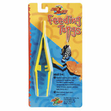 Alimentación de plástico Pinzas Pinzas de alimentación Zoo Med reptil livefood