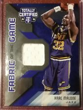 2015-16 Totally Certified Fabric of the Game Blue KARL MALONE Jersey Patch /49