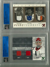 Hasek ITG Ultimate Vault 1/1 on 2009 Spring Expo Card. 3 Piece GU Emerald Logo
