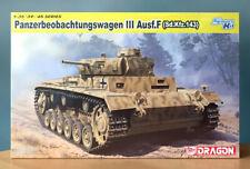 SEALED Dragon 1/35 Pz. Beob. Wg. III Ausf.F (Sd.Kfz. 143) Model Kit #6792