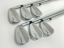 PING i500 FORGED IRONS 5-PW STIFF FLEX STEEL SHAFTS WHITE DOT