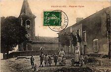 CPA Villey le Sec - Place de l'Eglise (276790)