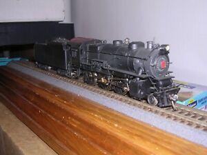 BRASS Westside   P.R.R. G-5 4-6-0 Steam Loco #5716 Custom Painted H.O.Scale 1/87
