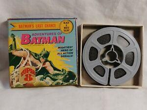 Vintage Adventures Of Batman Batmans Last Chance 8mm Super 8 Movie