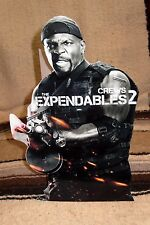 """Expendables 2 """"Crews"""" Color Figure Tabletop Display Standee 10.5"""""""