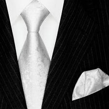 2500701 LORENZO CANA Krawatte mit Einstecktuch Hochzeit Paisley Barok 100% Seide