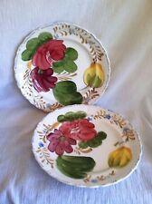2 Belle Fiore Chanticleer 521 Simpsons Potters England Dessert Salad Plate Dish