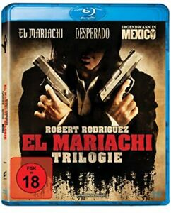 Desperado & El Mariachi & Irgendwann in Mexico Blu-ray Trilogie NEU OVP