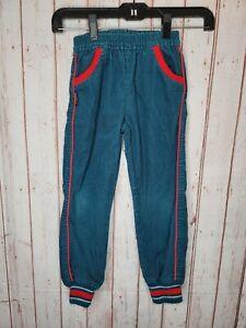 Vintage Osh Kosh B'Gosh USA toddler pants Green Red Courdaroy 90s size 5