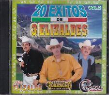 Adair Elizalde,El Norracho Elizalde,Corsel de Sinaloa 20 Exitos 3 Elizaldes CD