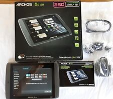"New Archos 80 G9 Black 250GB Storage Wi-Fi, 8"" screen android 4.0 tablet  502041"