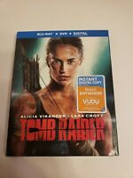 Tomb Raider (Blu-ray, DVD, Digital HD) Brand New Sealed Free Shipping