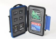 ZTC Micro Card Travel Case 4x microSD 2x SDHC 2x CF Rugged Waterproof/Shockproof