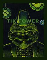 Tiki Bar Chimp Cocktail Ape Monkey Kustom Lowbrow Pop Art Fez Man Cave Print