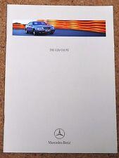 1998 MERCEDES BENZ CLK COUPE Sales Brochure - CLK320, 230 Kompressor, 200