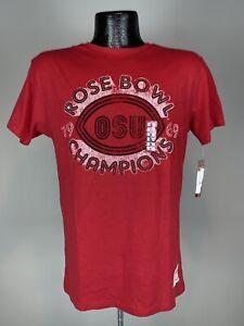 Women's Distant Replays Ohio State Buckeyes 1969 Rose Bowl Retro Shirt NWT Small