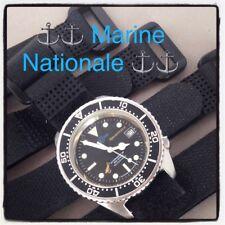 Strap Marine Nationale pour montre militaire Tudor Auricoste CWC Beuchat MN