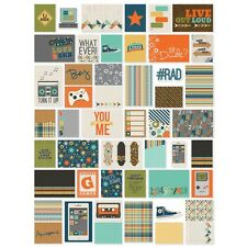 Simple Stories SO RAD Snap Cards 6523  New 2015