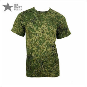 Russian Army Digital Flora Camo T-Shirt - GOST - OFFICIAL Military Standard