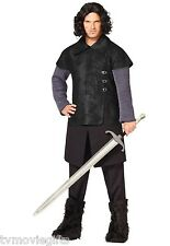 Jon Snow Game Of Thrones Night's Watch Costume Adult Size Std Licensed 01253371
