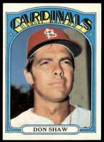 1972 Topps (Jvb292) Don Shaw St. Louis Cardinals #479