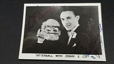More details for jim tattersall with jerry & co signed pr small photo