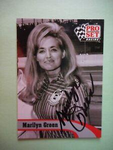 "Marilyn Green 1991 Pro Set 1971""1st MISS WINSTON CUP"" Nascar Card L6"