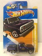 2012 Hot Wheels Purple '78 Dodge Li'l Red Express Pickup Truck New Models #34