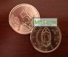 50 Cent Kursmünze San Marino hl. Marinus  2018 aus Rolle mit neuem Münzmotiv