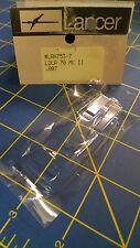 "Lancer 753-7 007"" LOLA 70 MK II Clear Lexan HO body slot car Mid America"
