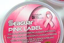 SEAGUAR 100% FLUOROCARBON PINK CLEAR - 25 YARDS - SUPER DEAL