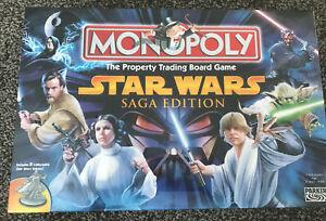 Monopoly Star Wars Saga Edition  2005